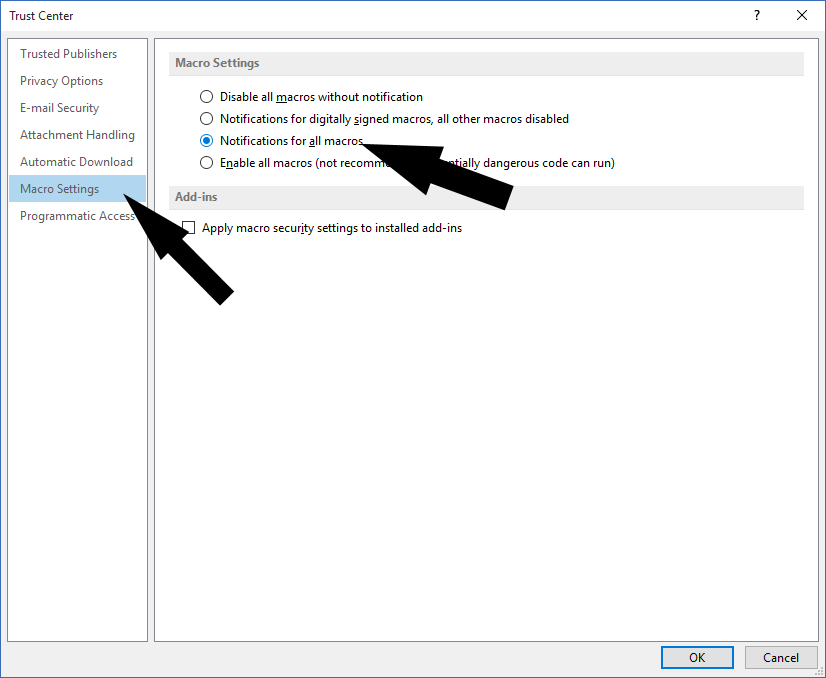 Extract all email addresses from Outlook